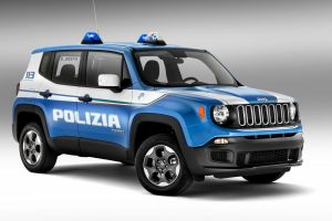 FIAT-Chrysler подарил итальянской полиции партию автомобилей