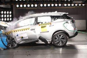 Nissan Murano получил две звезды в южноамериканском краш-тесте