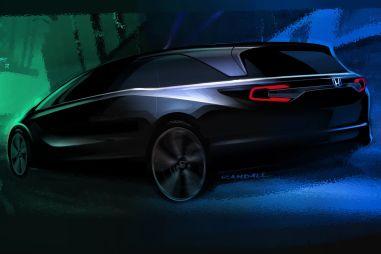 Honda рассказала о новом минивэне Odyssey при помощи детских рисунков