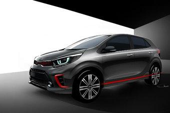 Новый Kia Picanto, скорее всего, будут оснащать бензиновыми моторами объемом 1,0 и 1,25 л.
