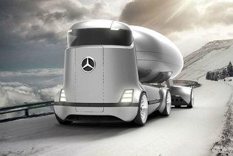 Mercedes E-Truck — детище независимого дизайнера и к самому концерну Daimler AG отношения не имеет.
