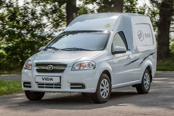 Объем грузовой платформы ZAZ Vida Cargo составляет 2,9 кубометров, а грузоподъемность — 750 кг.