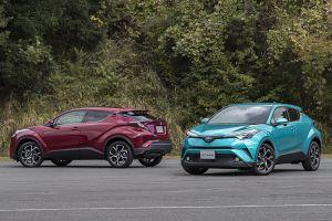 Подробный фотообзор и первый тест нового кроссовера Toyota C-HR