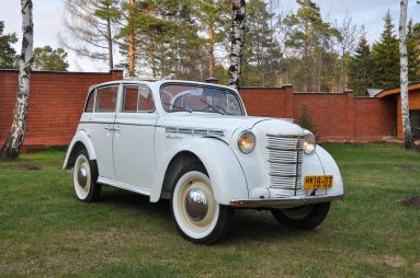 «Москвич»-400-420А. Кабриолет послевоенного времени