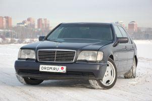 Народное ретро. Mercedes-Benz S600. Дитя эпохи