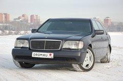 Народное ретро. Mercedes-Benz S600. Дитя эпохи - «Автоновости»