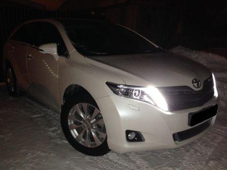 Toyota Venza 2014 - отзыв владельца