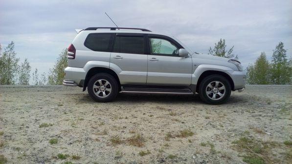 Toyota Land Cruiser Prado 2008 - отзыв владельца