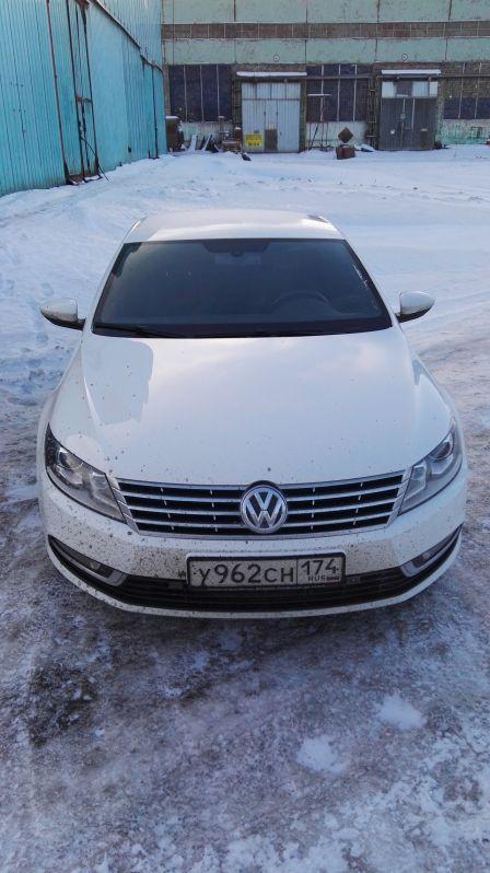 Volkswagen Passat CC 2014 - отзыв владельца
