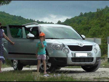 Skoda Yeti 2011 - отзыв владельца