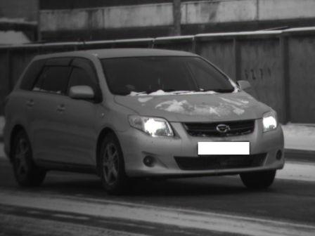 Toyota Corolla Fielder 2009 - отзыв владельца