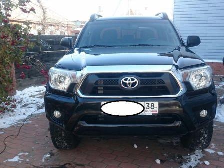 Toyota Tacoma 2011 - отзыв владельца