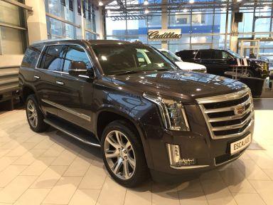 Cadillac Escalade 2016 отзыв автора | Дата публикации 07.12.2016.