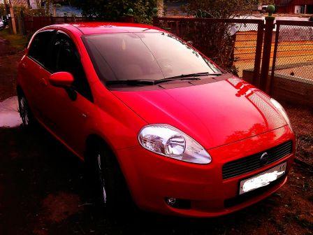 Fiat Grande Punto 2007 - отзыв владельца
