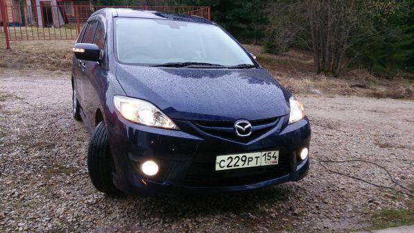 Mazda Premacy 2010 - отзыв владельца