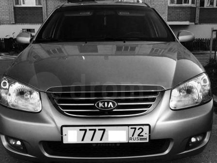 Kia Cerato 2008 - отзыв владельца