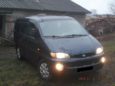 Hyundai H1 1997 - отзыв владельца