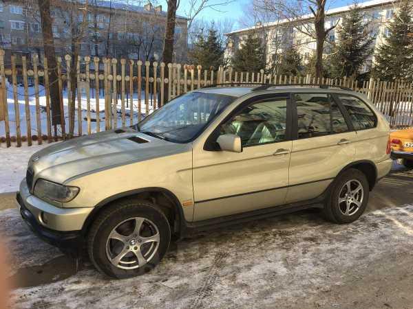 BMW X5, 2003 год, 599 000 руб.