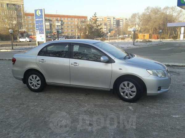 Toyota Corolla Axio, 2008 год, 459 000 руб.