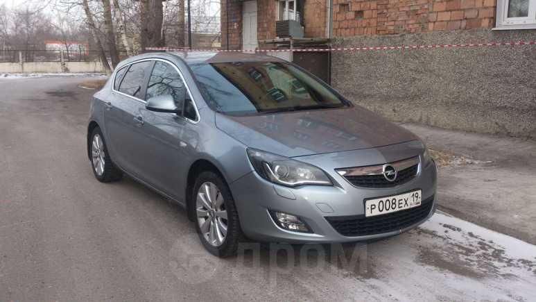 Opel Astra, 2011 год, 650 000 руб.