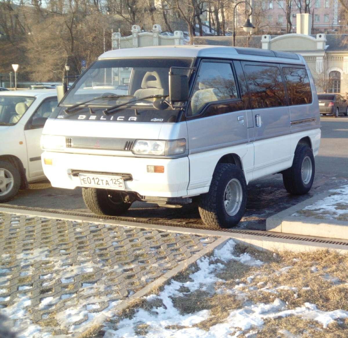 mitsubishi delica, 1993 года дизель (отзывы)