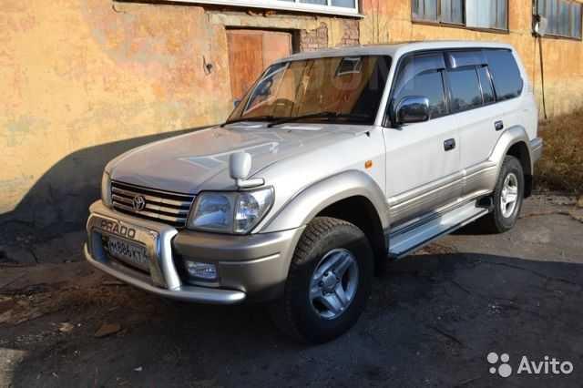 Toyota Land Cruiser Prado, 2001 год, 705 000 руб.
