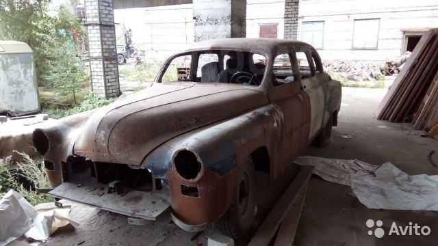 ГАЗ 12 ЗИМ, 1952 год, 450 000 руб.