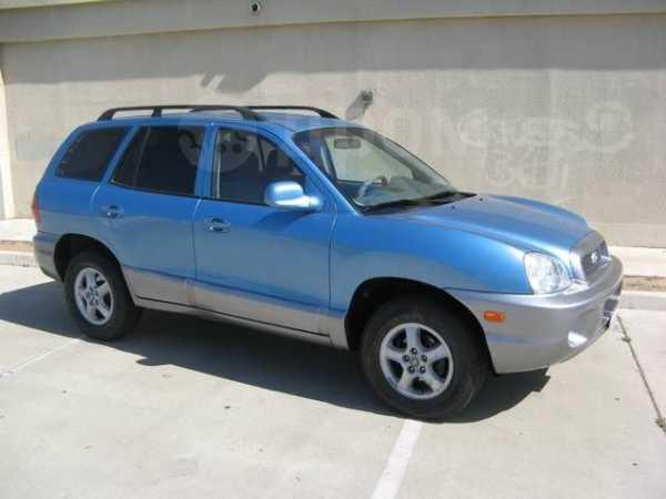 Hyundai Santa Fe, 2003 год, 335 000 руб.