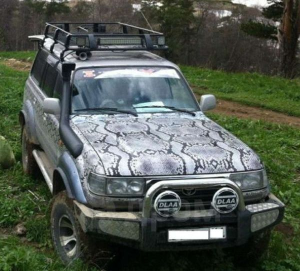 Toyota Land Cruiser, 1996 год, 800 000 руб.