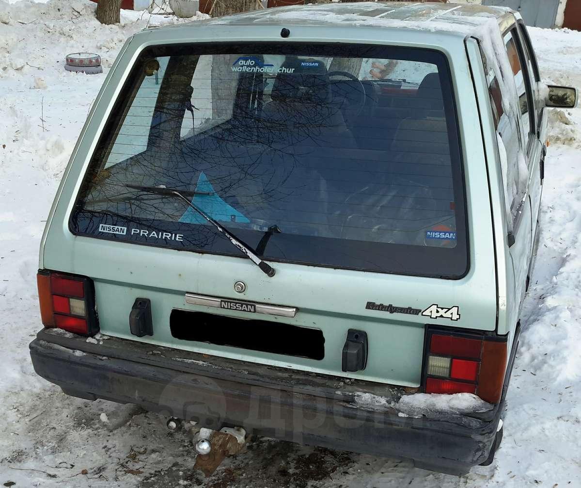 nissan prairie 1988 год механика