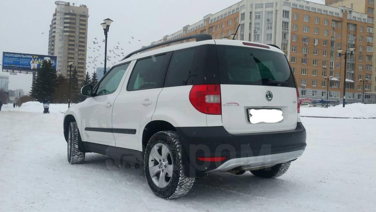 skoda yeti 2012 новые авто