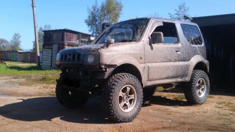 Suzuki Jimny Wide, 1998 год, 310 000 руб.