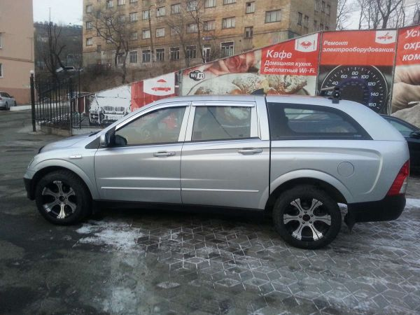 SsangYong Actyon Sports, 2008 год, 300 000 руб.