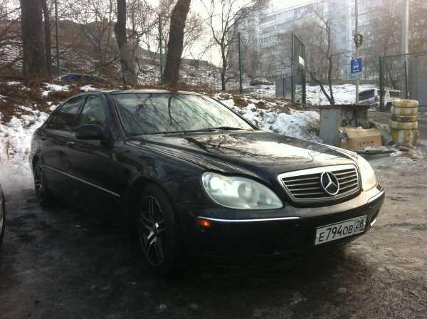Mercedes-Benz S-Class, 1998 год, 350 000 руб.