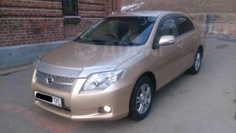Toyota Corolla Axio, 2008 год, 495 000 руб.