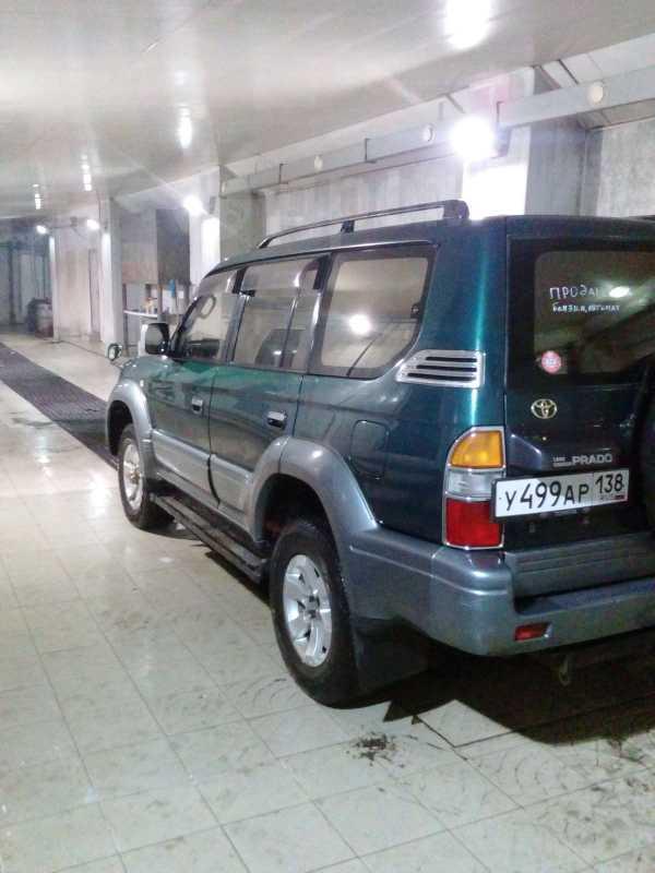 Toyota Land Cruiser Prado, 1996 год, 555 000 руб.