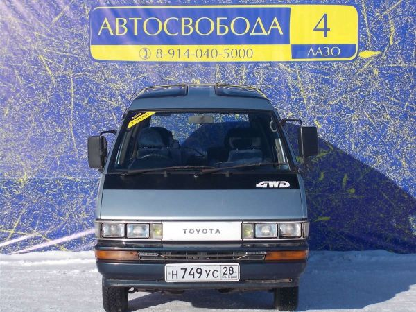 Toyota Master Ace Surf, 1988 год, 80 000 руб.