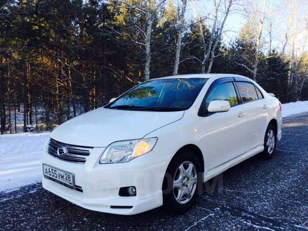 Toyota Corolla Axio, 2007 год, 465 000 руб.