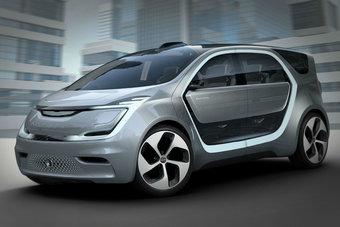 Chrysler Portal оснащен системой автопилота, но им можно управлять и традиционным способом.