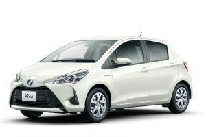 У Toyota Vitz появилась гибридная версия