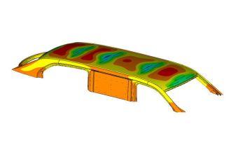 Композитная крыша значительно легче и прочнее стальной. А еще она дешевле в производстве.