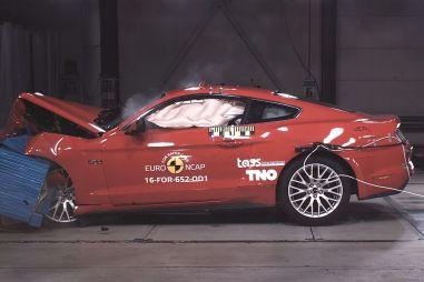 Ford Mustang провалил европейский краш-тест