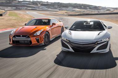 Сравнительный тест Acura NSX и Nissan GT-R. Долгожданная битва японских суперкаров состоялась