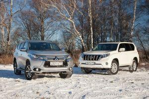 Сравнительный тест Mitsubishi Pajero Sport и Toyota Land Cruiser Prado. Претендент из деревни