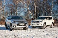 Сравнительный тест Mitsubishi Pajero Sport и Toyota Land Cruiser Prado. Претендент из деревни - «Автоновости»