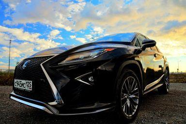 Lexus RX350 2016 отзыв автора | Дата публикации 29.01.2017.