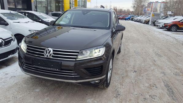 Volkswagen Touareg 2016 - отзыв владельца