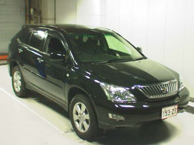 Toyota Harrier, 2007