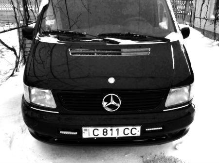 Mercedes-Benz Vito 1997 - отзыв владельца