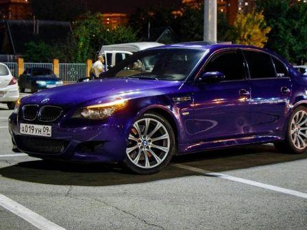 BMW M5 2007 - отзыв владельца